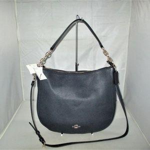 COACH 58036 Chelsea 32 pebbled Leather Hobo Bag